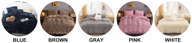 buy faux fur comforter online