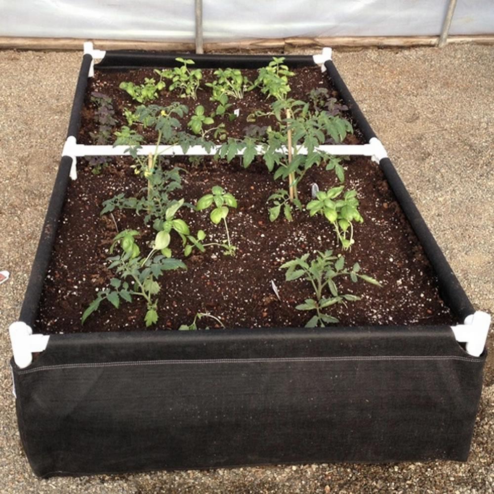 raised garden bed for deck
