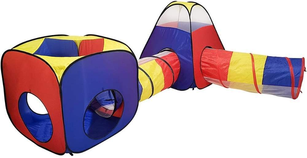 buy childrens pop up tent and crawl tunnel