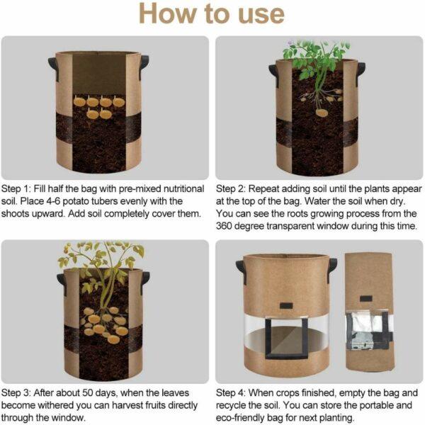 best potato planting bags