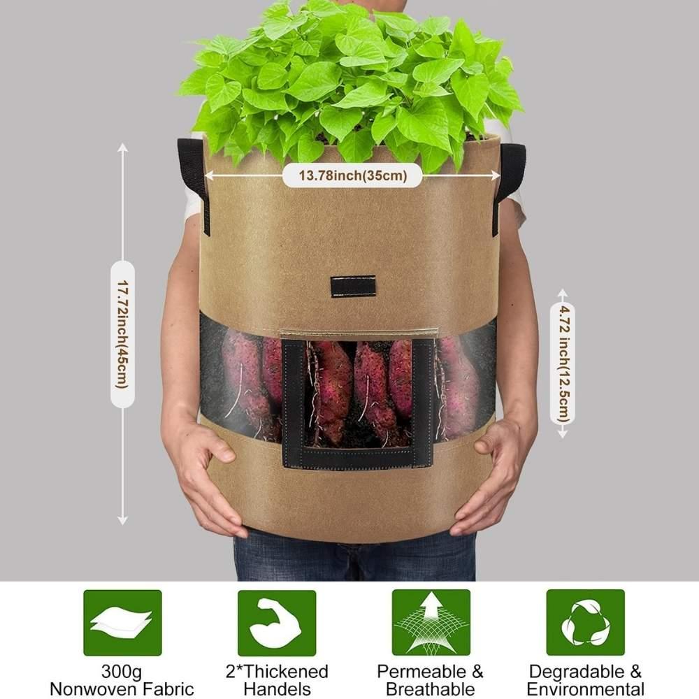buy fabric potato- planting bag online
